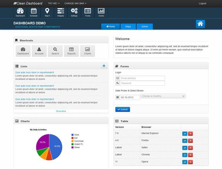 20 Templates Bootstrap cho Admin Dashboard miễn phí - Ảnh 16.