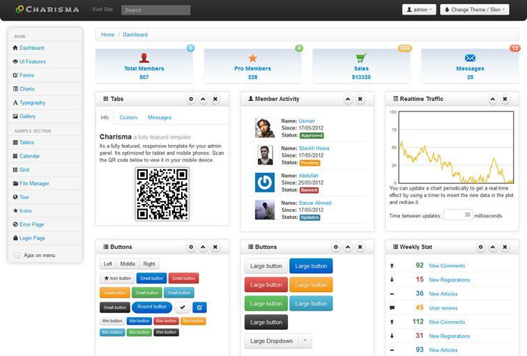 20 Templates Bootstrap cho Admin Dashboard miễn phí - Ảnh 17.